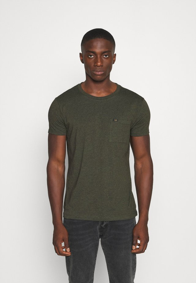 ULTIMATE POCKET TEE - T-shirt basic - serpico green