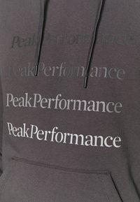 Peak Performance - GROUND HOOD - Sweatshirt - motion grey - 5
