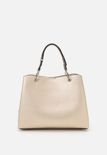 SHOPPER BAT L - Tote bag - gold