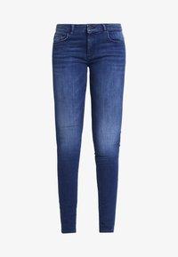 ONLY - ONLFCARMEN - Jeans Skinny Fit - dark blue denim - 4