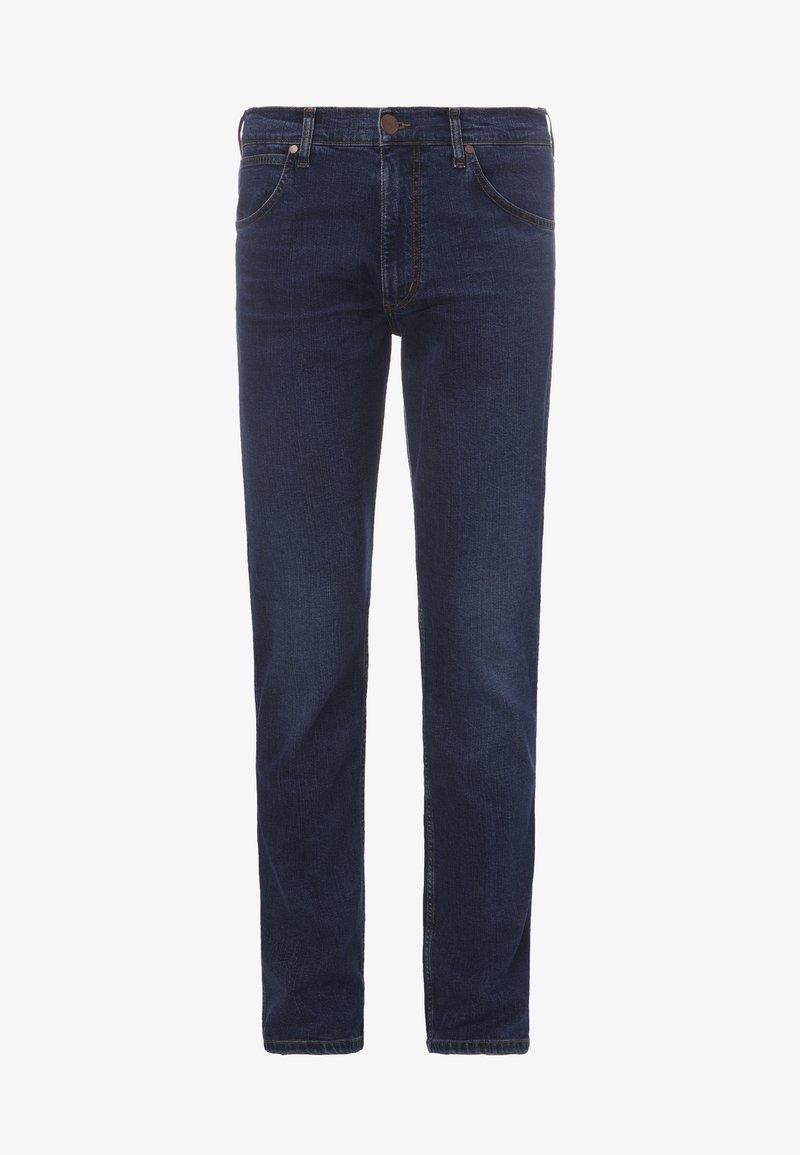 Wrangler GREENSBORO - Jeans Straight Leg - power up/dunkelblau dtTeCj
