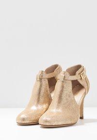 San Marina - AVISINO - High heeled ankle boots - gold - 4