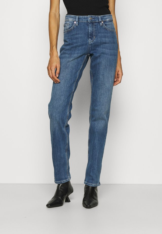 LANG - Jeans a sigaretta - light blue
