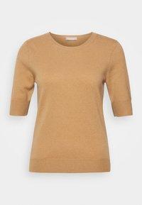 Repeat - T-shirt basic - camel - 0