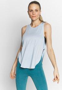Cotton On Body - SIDE TWIST TANK  - Topper - baby blue - 0