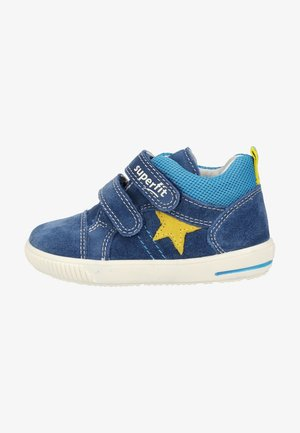 Baby shoes - blue/yellow