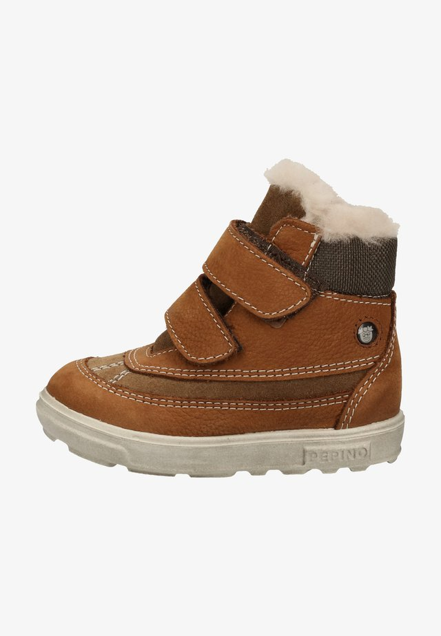 Babyschoenen - curry/hazel 262