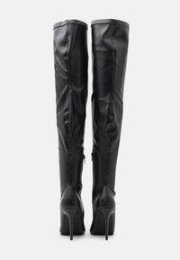 4th & Reckless - RUBIE - Laarzen met hoge hak - black - 3