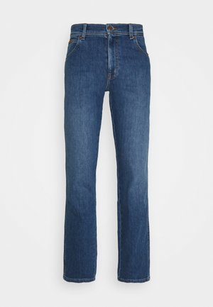 TEXAS - Straight leg jeans - hot rock