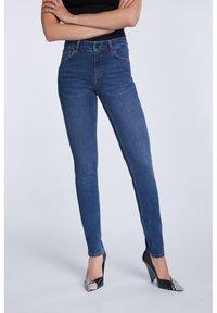 SET - Slim fit jeans - darkblue denim - 1