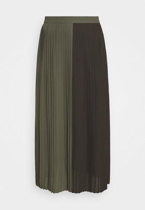 ALA CARMA SKIRT - Maxi skirt - khaki