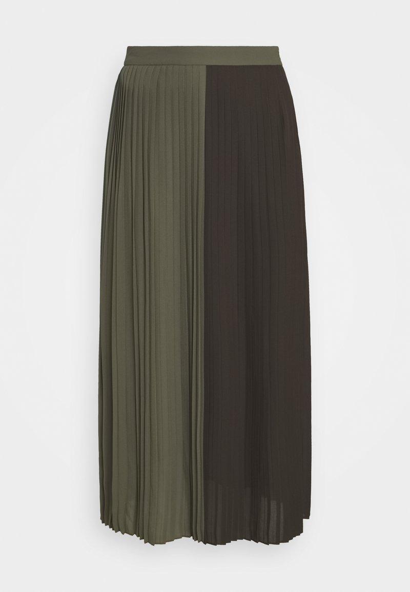 Bruuns Bazaar - ALA CARMA SKIRT - Maxi sukně - khaki