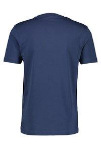 LERROS - MIT RUNDHALSAUSSCHNITT  - Basic T-shirt - blue - 1