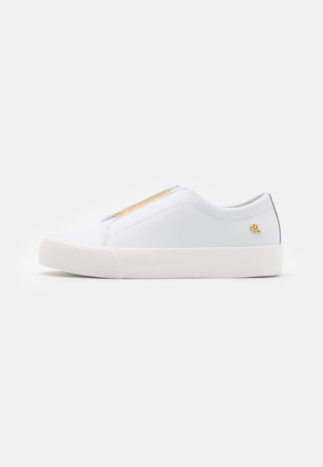 ISLA - Sneakers - white/modern gold