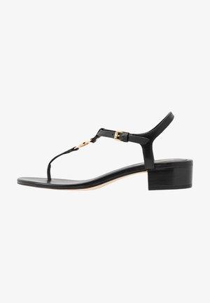 CAYLA MID - Sandaler m/ tåsplit - black