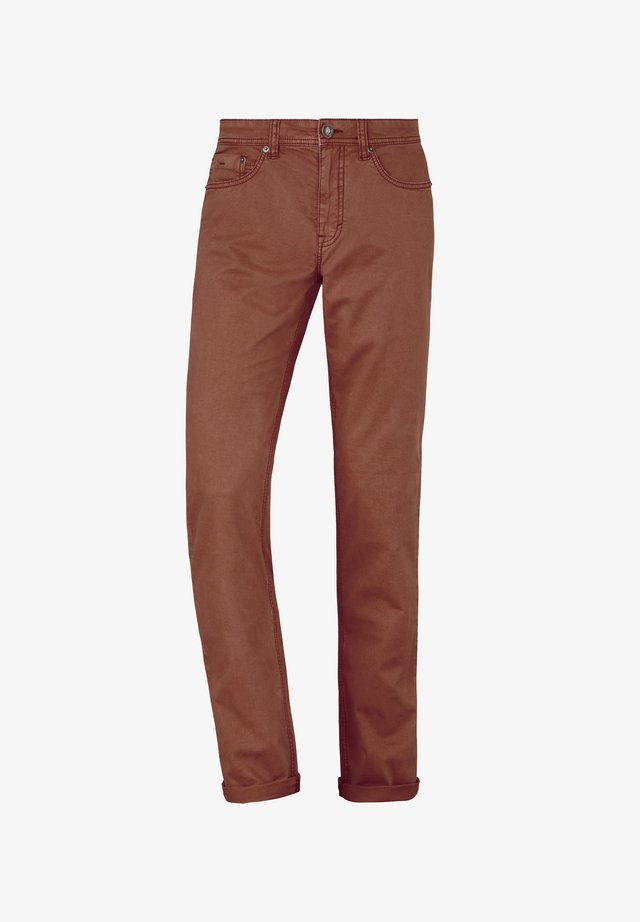 5-POCKET HOSE COLORED STRETCH RANGER - Slim fit jeans - rust
