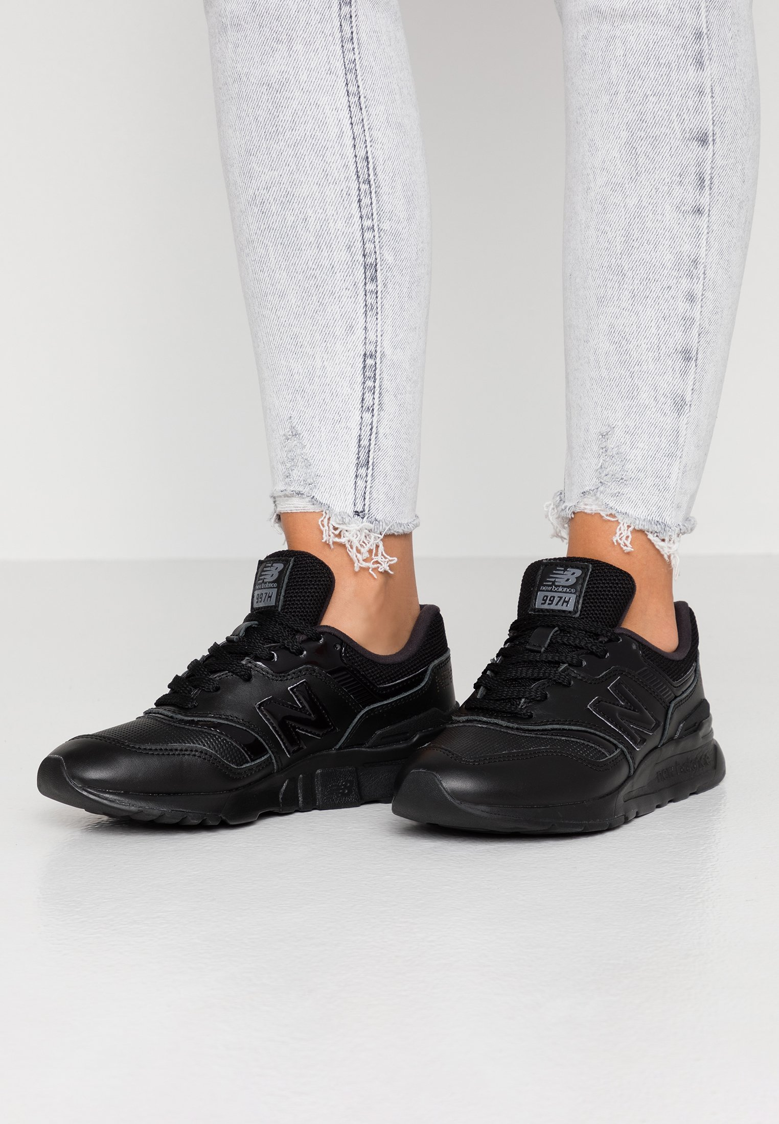 New Balance Baskets basses - black/noir - ZALANDO.FR
