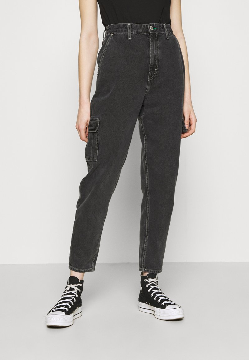 Tommy Jeans - MOM - Jeans relaxed fit - denim black