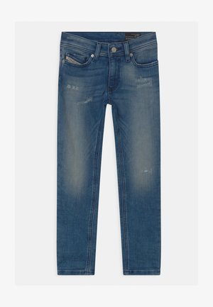SLEENKER UNISEX - Vaqueros slim fit - blue denim