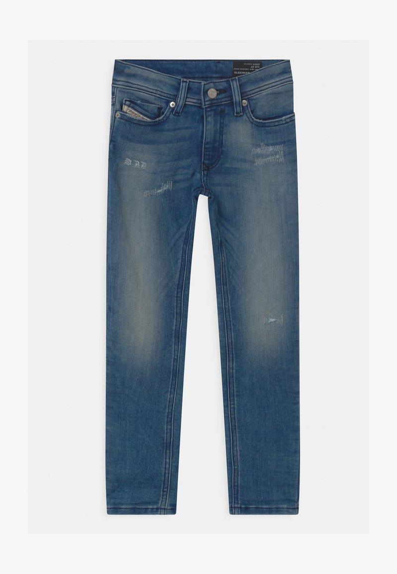Diesel - SLEENKER UNISEX - Slim fit jeans - blue denim