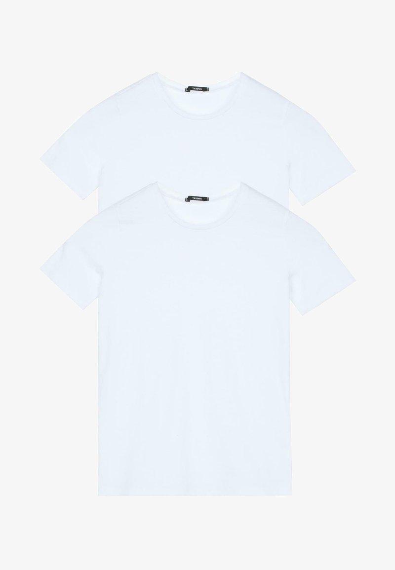 Tezenis - 2 PACK - Basic T-shirt - bianco
