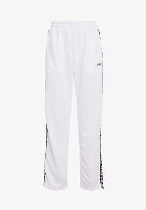 THORA TRACK PANTS - Pantaloni sportivi - bright white