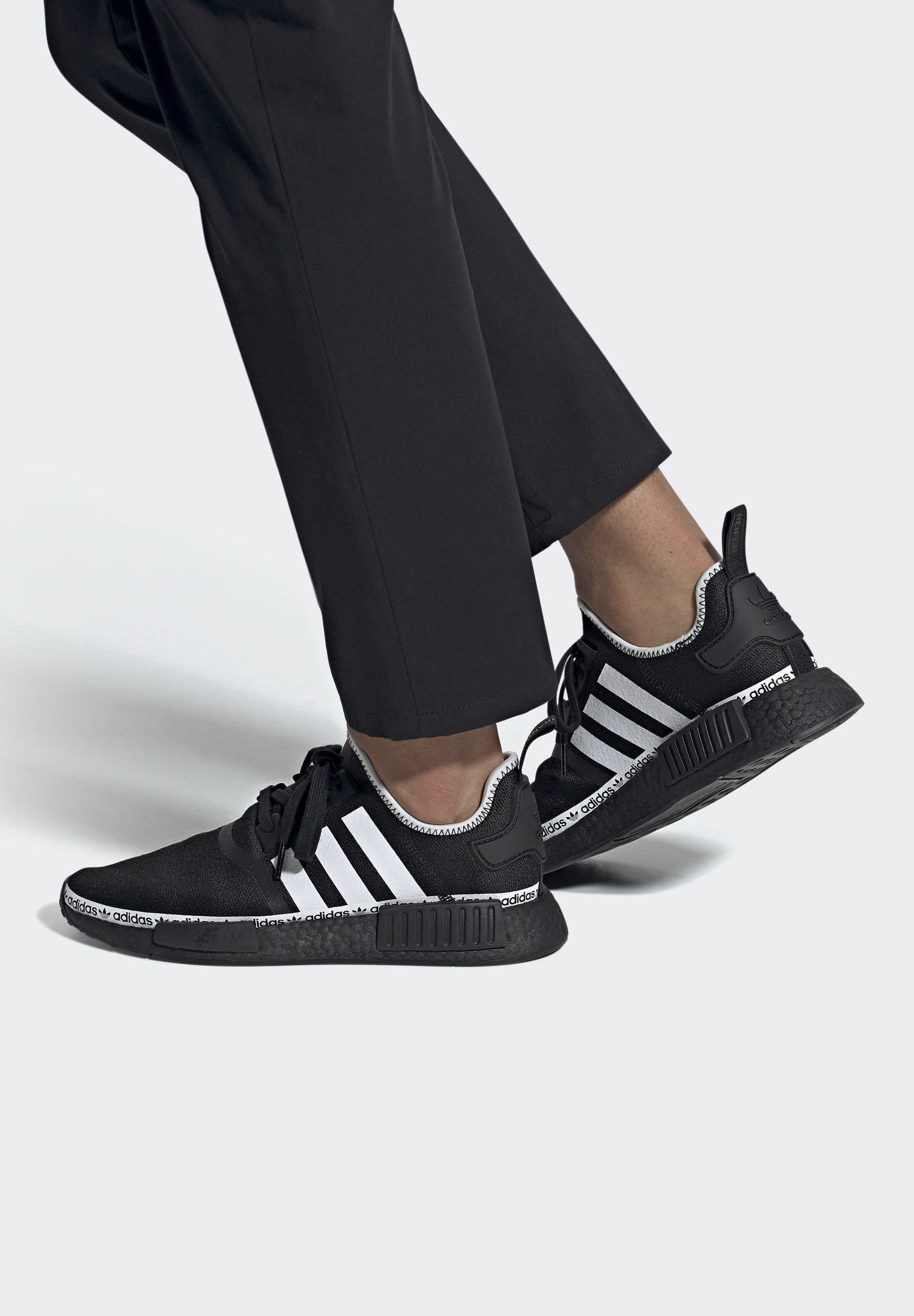 Adidas Originals Nmd_r1 - Matalavartiset Tennarit Black