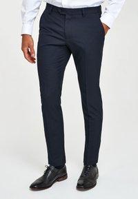Next - Pantaloni eleganti - dark blue - 0