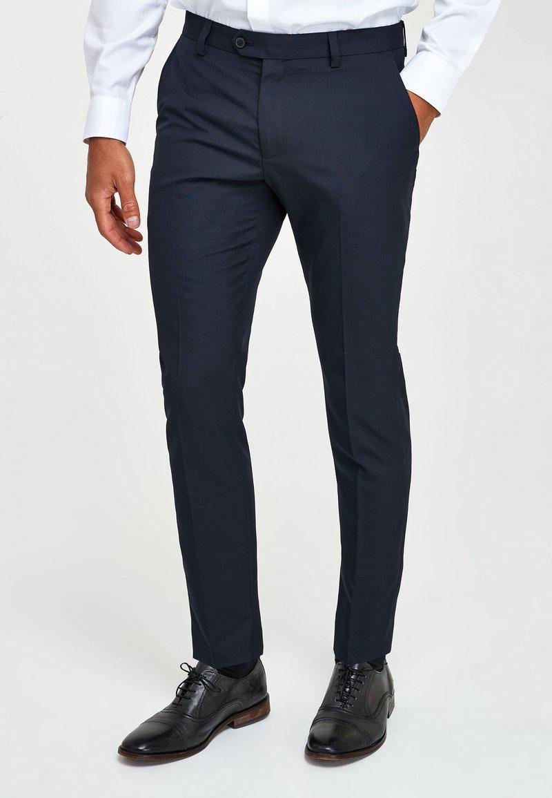 Next - Pantaloni eleganti - dark blue