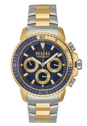 ABERDEEN - Chronograph watch - silver-coloured/gold-coloured