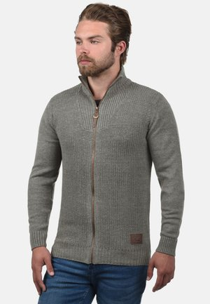 TRISTAN - Cardigan - grey melange