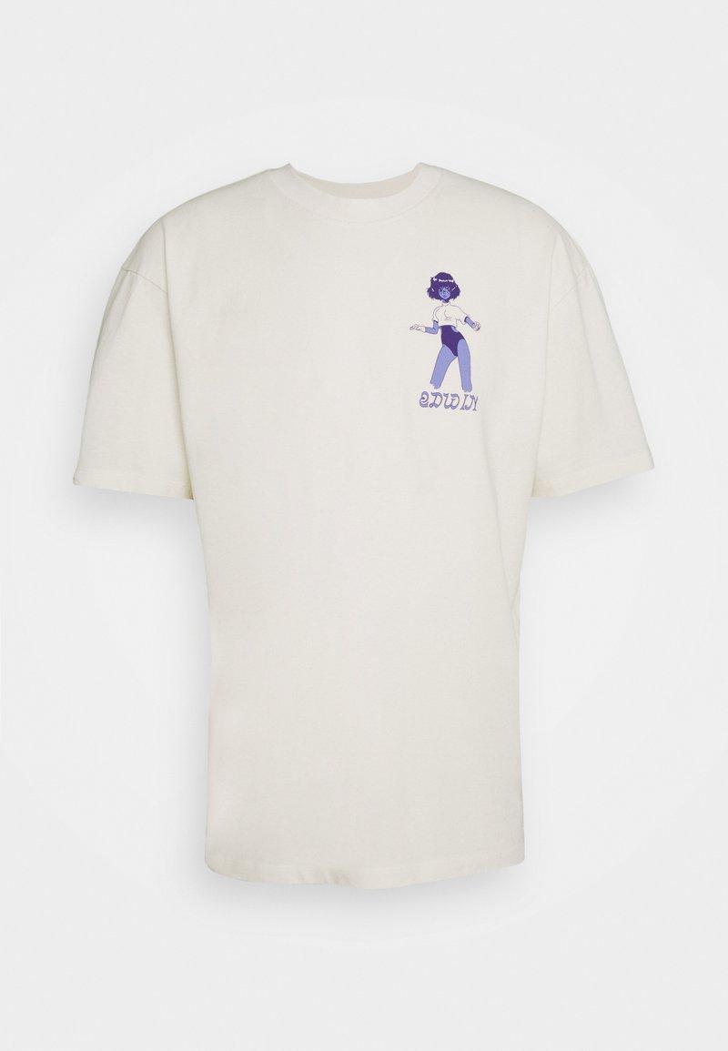 Edwin - LAYING MODEL UNISEX - Print T-shirt - off-white