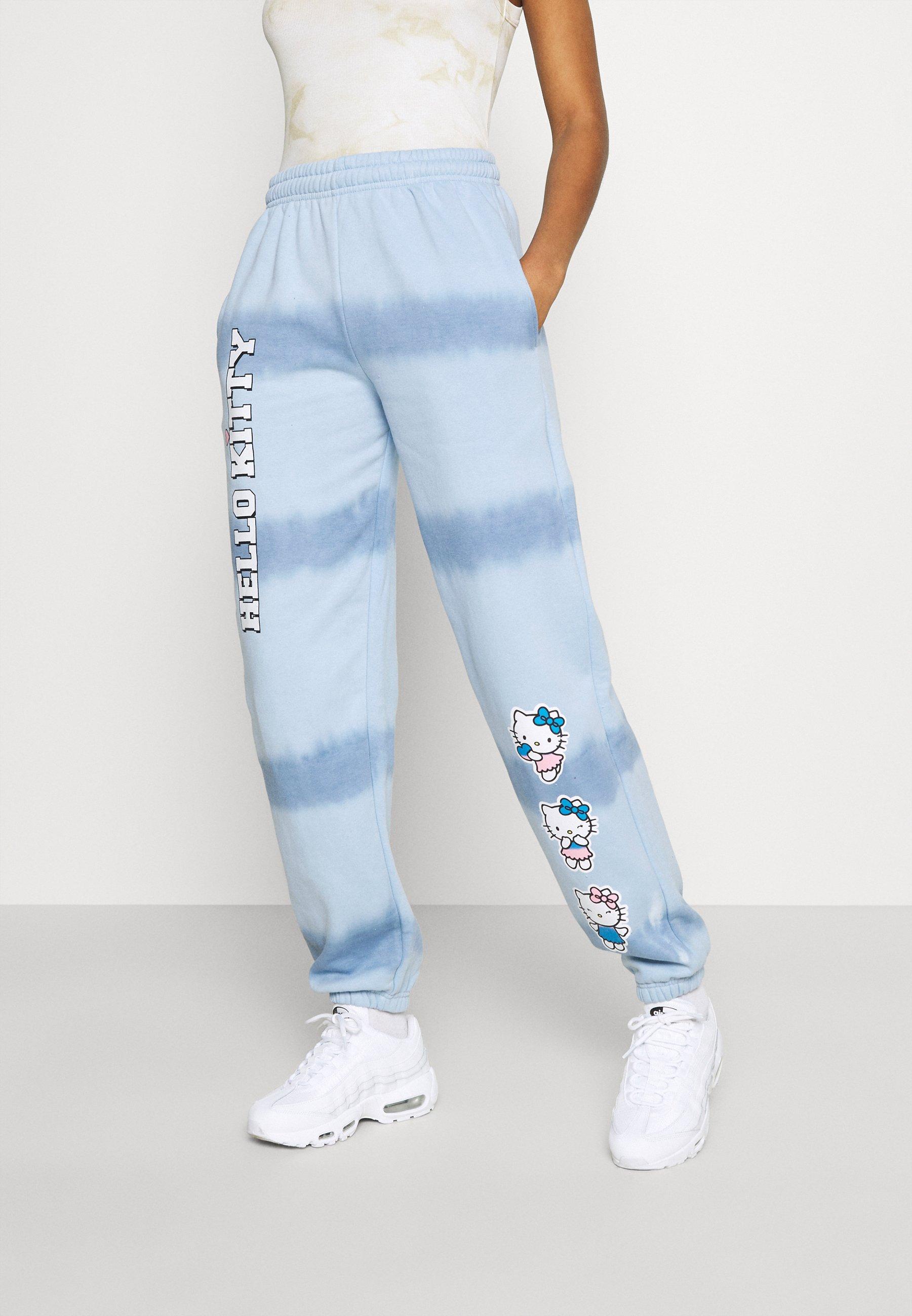 Mujer HELLO TIE DYE JOGGER - Pantalones deportivos
