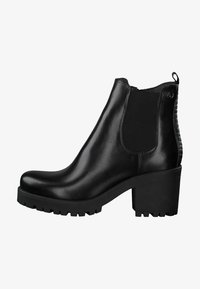 Tamaris - CHELSEA - Ankle boots - black/struct. - 0