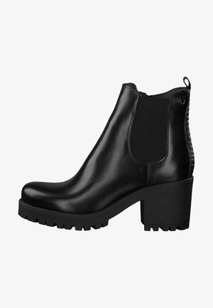 CHELSEA - Ankle boots - black/struct.