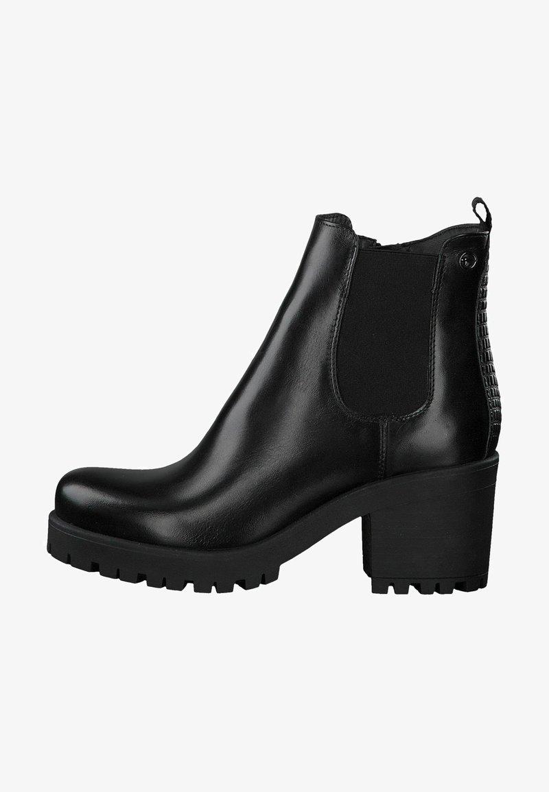 Tamaris - CHELSEA - Ankle boots - black/struct.