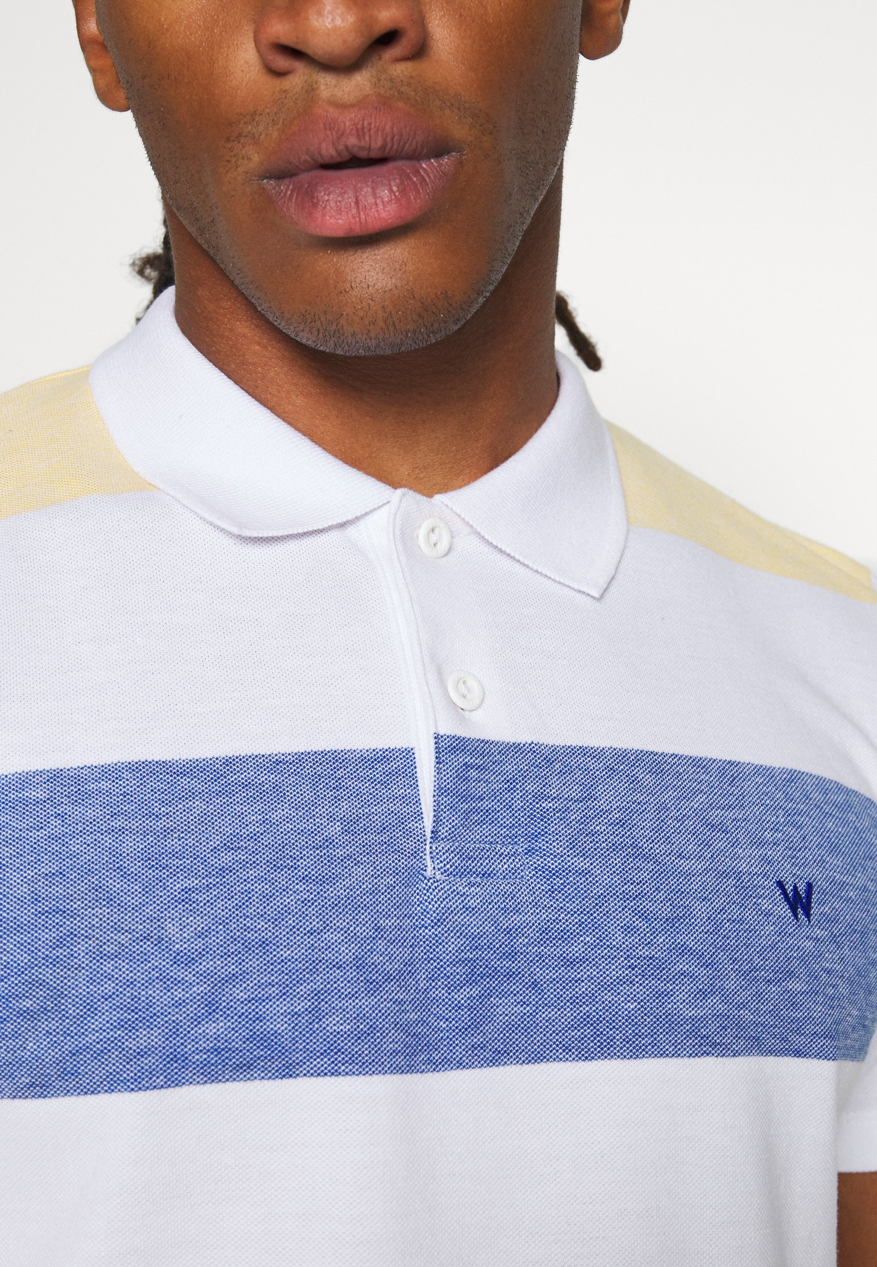 Wrangler Polo shirt - white PDunj