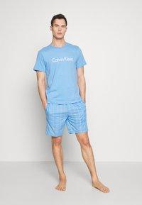 Calvin Klein Underwear - COMFORT CREW NECK - Pyjamashirt - blue - 1