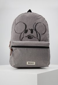 Kidzroom - BACKPACK MICKEY MOUSE REPEAT AFTER ME - Reppu - grey - 0