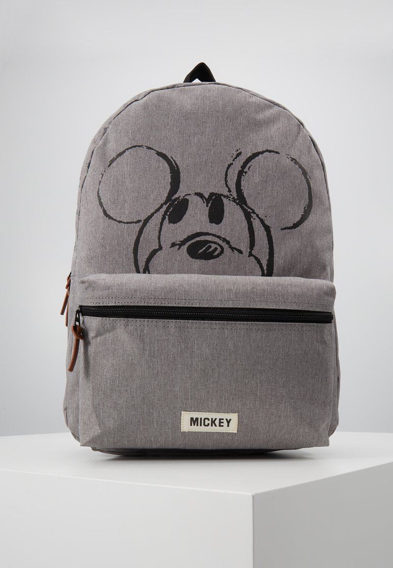 Kidzroom - BACKPACK MICKEY MOUSE REPEAT AFTER ME - Reppu - grey