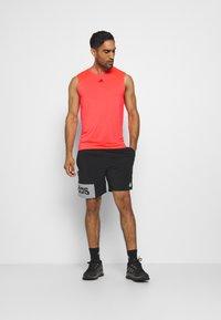adidas Performance - ADIZERO HEAT.RDY SPORTS RUNNING SINGLET TANK - T-shirt sportiva - sigpnk - 2