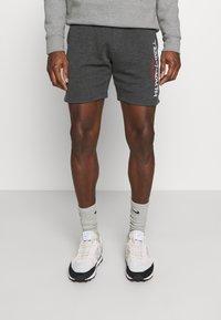 Teddy Smith - MICKAEL - Pantalon de survêtement - melange black - 0