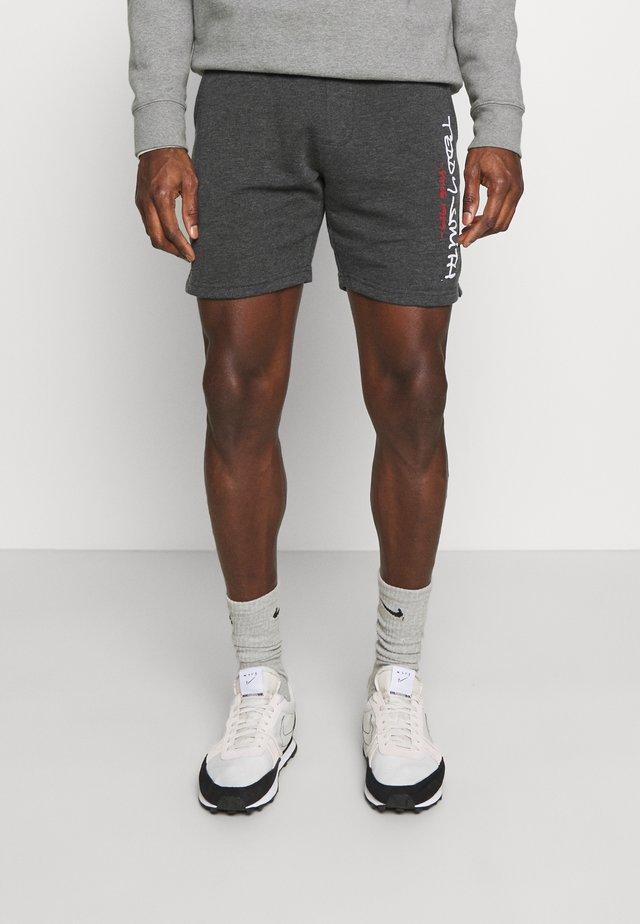 MICKAEL - Pantalon de survêtement - melange black