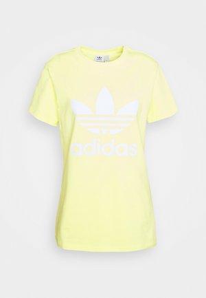 TREFOIL TEE - T-shirt print - pulse yellow