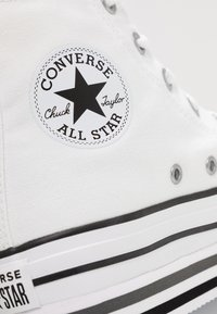 Converse - CHUCK TAYLOR ALL STAR PLATFORM - Zapatillas altas - white - 2
