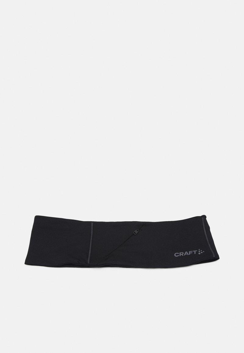 Craft - CHARGE MULTI FUNCTION WAIST BELT - Kuntoilutarvikkeet - black
