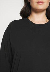 Noisy May Curve - NMHAILEY  - Basic T-shirt - black - 4