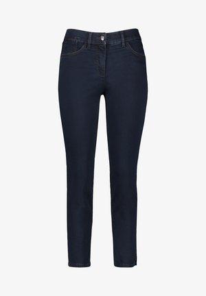 VERKÜRZT 5-POCKET BEST4ME CROPPED - Slim fit jeans - dark blue denim