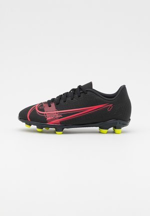 MERCURIAL JR VAPOR 14 CLUB FG/MG UNISEX - Moulded stud football boots - black/cyber