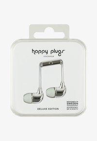 Happy Plugs - DELUXE - Headphones - silver - 0